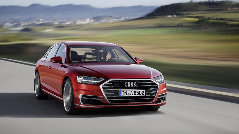 Nowe Audi A8 z funkcjami autonomicznej jazdy