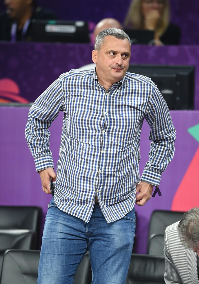 Dejan Radonjić na meču između reprezentacija Crne Gore i Letonije