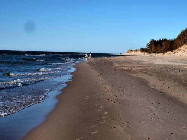 Czołpino - prawdziwie dzika plaża