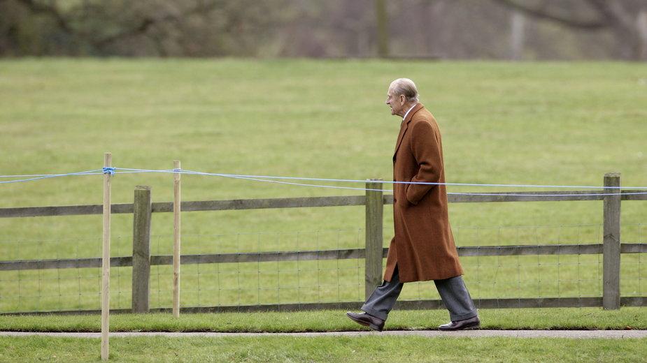 Książę Filip w Norfolk