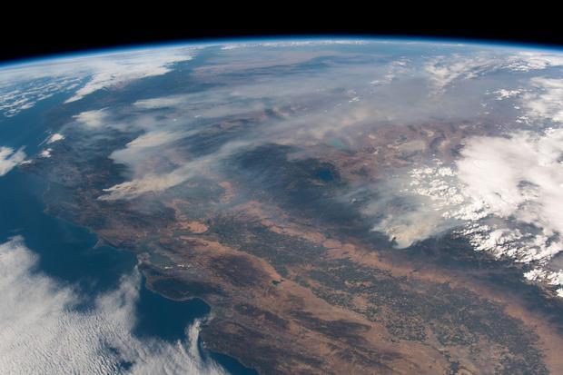 Požari u Kaliforniji iz Internacionalne Svemirske Stanice