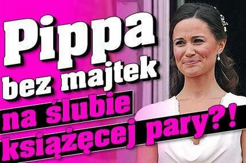 Pippa bez majtek na ślubie książęcej pary?!