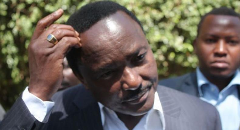 File image of Wiper party leader Kalonzo Musyoka