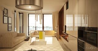 Nowoczesny apartament: ciepła stylistyka czy odważne kolory?