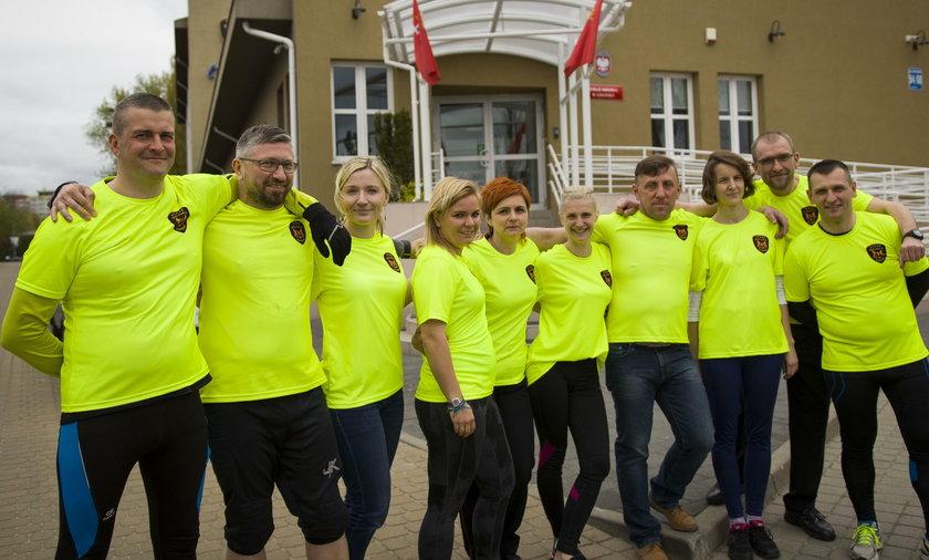 Klub Biegowy gdańskiej straży miejskiej