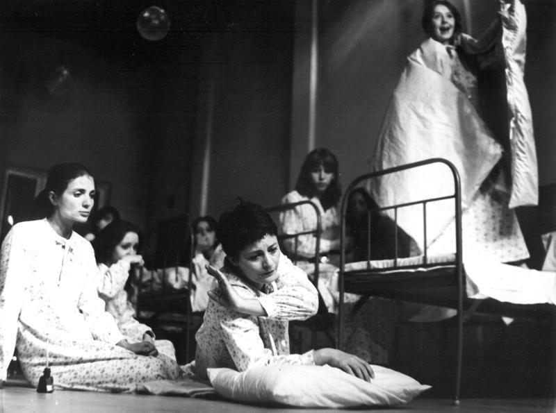 """""""Kopciuch"""", spektakl w Teatrze Powszechnym w Warszawie  (1980 r.)"""