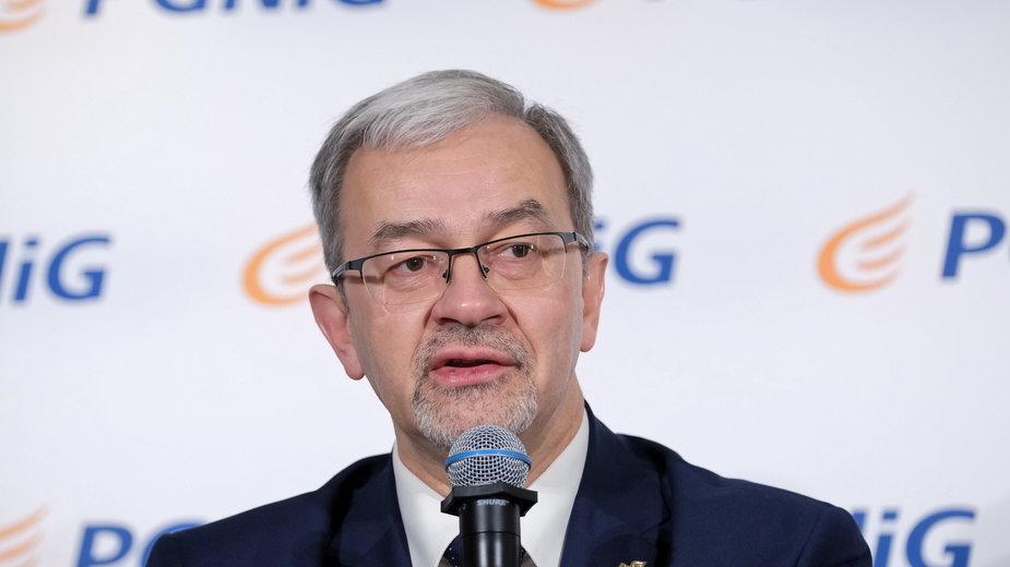 Jerzy Kwieciński, prezes PGNiG