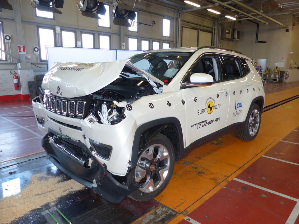 Jeep Compass – crash-test EuroNCAP
