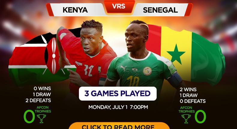 AFCON 2019: Kenya vs Senegal