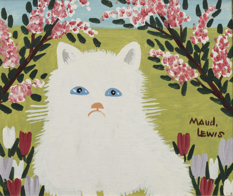 """Snowball"", Maud Lewis"