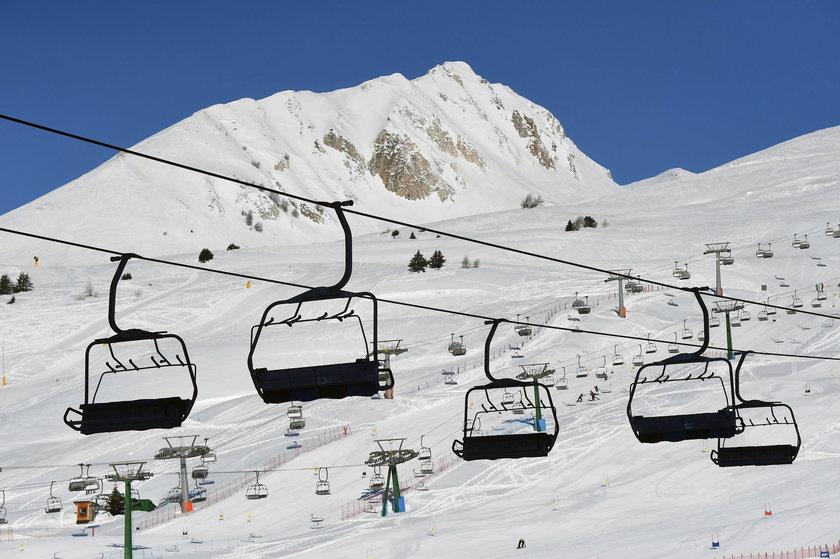 Włochy. Stoki i wyciągi narciarskie zamknięte