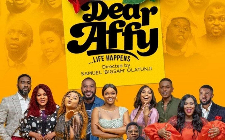 Sam Olatunji stars Kehinde Bankole, Toyin Abraham, Bimbo Ademoye, Uzor Arukwe in new romantic comedy 'Dear Affy' [Vanguard]
