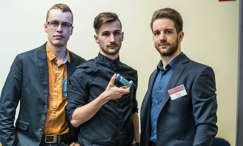 Studenci wynaleźli inteligentny inhalator