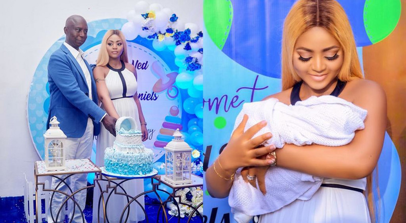 Regina Daniels and billionaire husband hold naming ceremony for their son (PHOTOS)