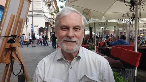 Amerykański futurolog Peter C. Bishop