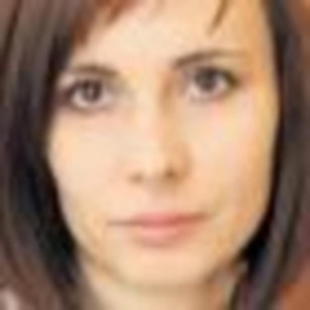 Anna Kubiak z Ośrodka Wspierania Przedsiębiorczości Fundacja Inkubator z Łodzi Fot. Grzegorz Gałasiński
