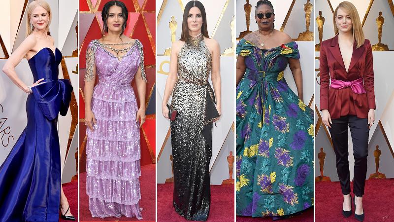 Oscary 2018. Gwiazdy wkroczyły na czerwony dywan