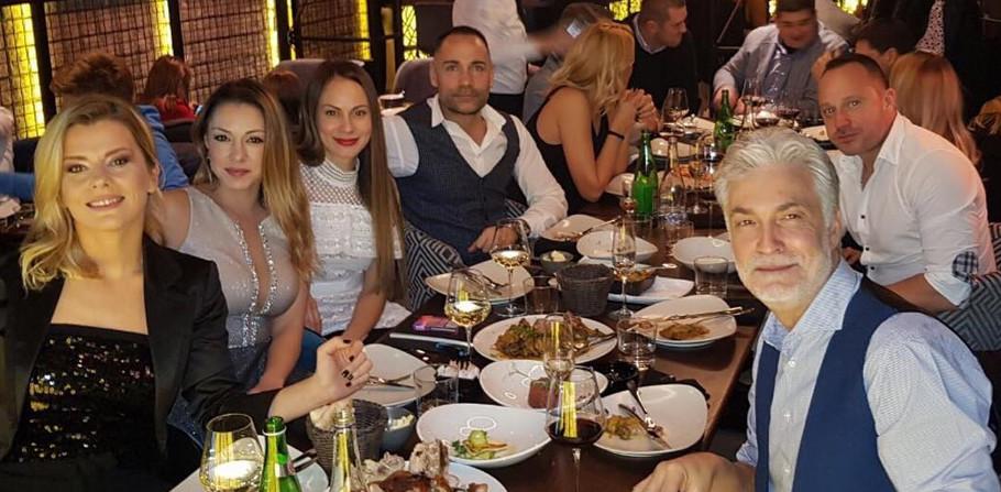 Nataša Miljković sa bivšim suprugom i sadašnjim partnerom