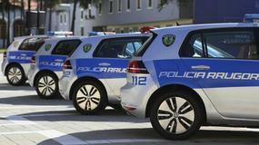 Elektryczne Volkswageny e-Golfy dla policji