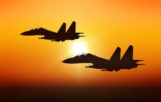 Myśliwce NATO startowały w trybie alarmowym do rozpoznania rosyjskich samolotów