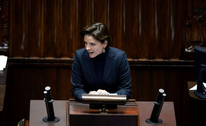 Joanna Mucha w Sejmie