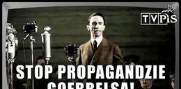 """Propaganda Goebbelsa"" w TVP? PO uderza ostrym spotem"