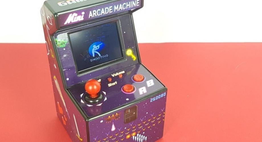 Gadget der Woche: Mini Arcade Machine mit 240 16-Bit-Games