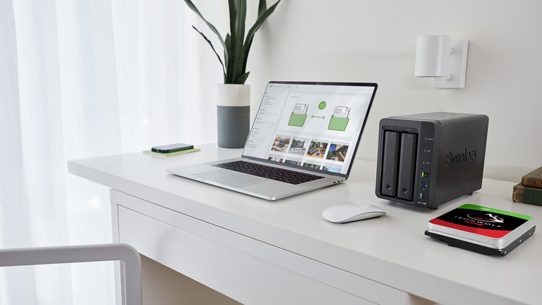 SEAGATE NAS SYNOLOGY 2-BAY home-office Lo-Res