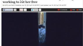 USA: kobieta uwięziona między budynkami, spadła z dachu