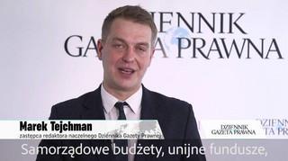 Marek Tejchman zaprasza na Kongres Perły Samorządu
