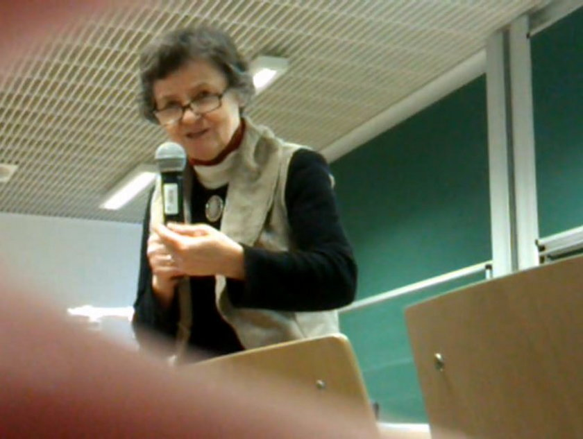 Prof. Janina Milewska - Duda, matka Andrzeja Dudy, kandydata na prezydenta RP.