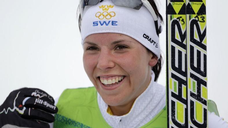 Posąg szwedzkiej biegaczki postrachem Norwegów