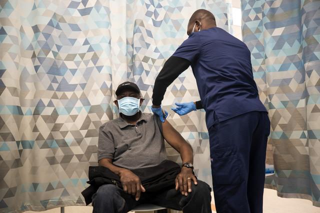 Vakcinisanje u Kaliforniji - Kompton