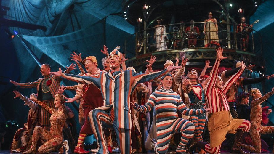 """Cirque Du Soleil. Spektakl """"Kooza"""""""