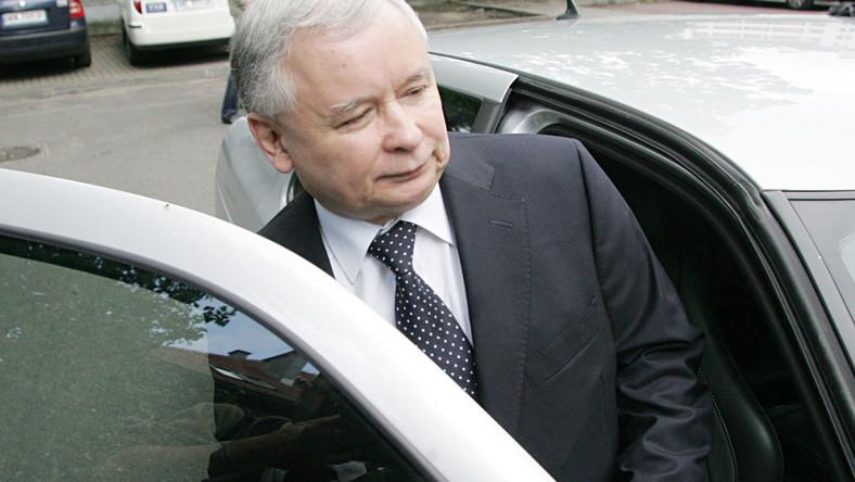 Kaczyński zeznawał w sprawie haków na PO