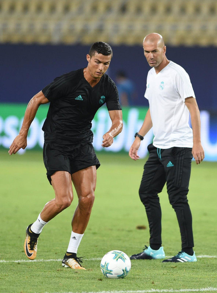 Kristijano Ronaldo, Zinedin Zidan