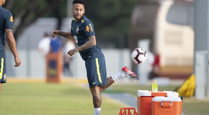 Nigeria Vs Brazil: Neymar, Firmino and others kick-off training ahead of friendly against Super Eagles of Nigeria