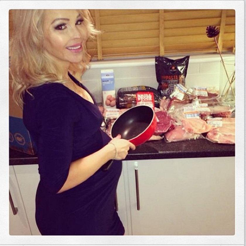 Katie Piper w kuchni