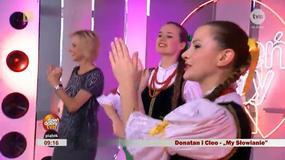 """Cleo komentuje taniec Jolanty Pieńkowskiej w """"Dzień dobry TVN"""" - flesz muzyczny"""