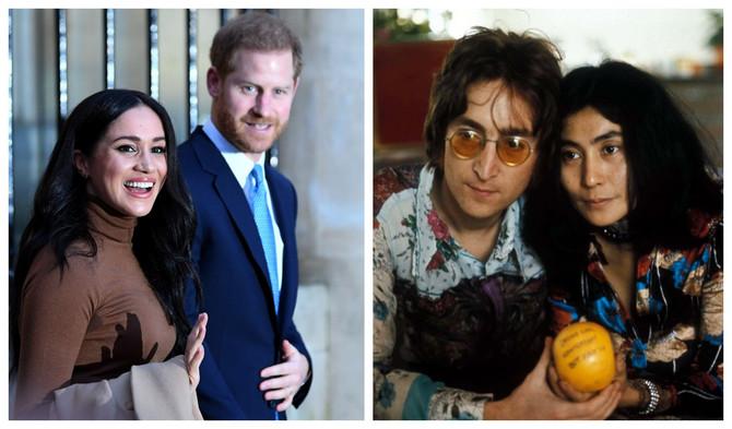 Megan Markl i princ Hari kao Joko Ono i Džon Lenon, misle neki