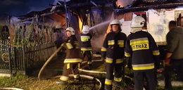 Wielki pożar w małopolskich Niedzieliskach. Cała wieś bez prądu