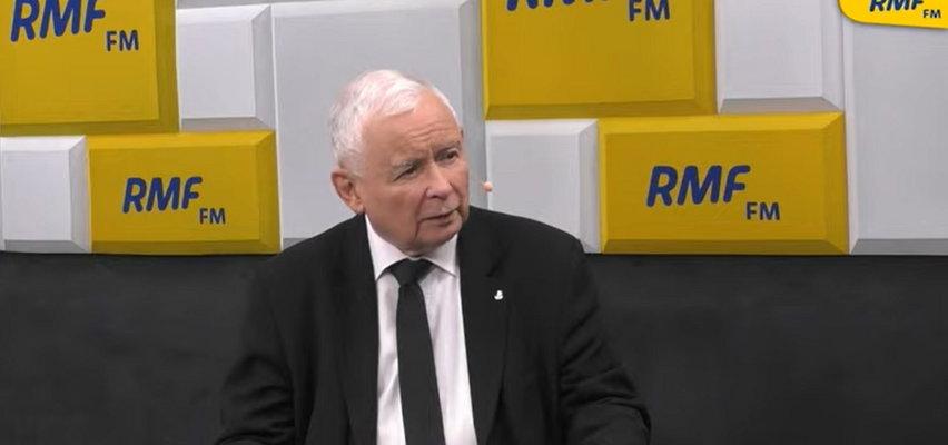 """Kaczyński pytany o drożyznę oskarża o """"cwaniactwo"""" firmy dążące do wielkich zysków. Ziemiec wypomniał mu, że za PO chciał zdusić ceny paliw obniżką akcyzy. Dzisiaj prezes ma inne poglądy..."""