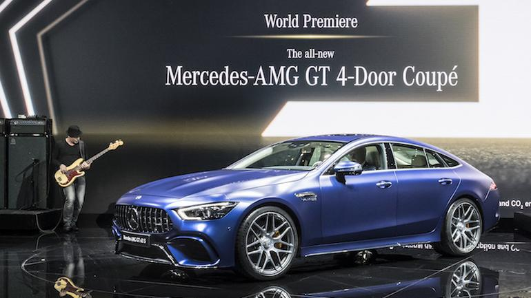 Mercedes-AMG GT 4-Door Coupe: Genewa 2018