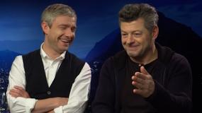"""""""Ten film ma swoją własną tożsamość"""". Andy Serksis i Martin Freeman o """"Czarnej Panterze"""""""