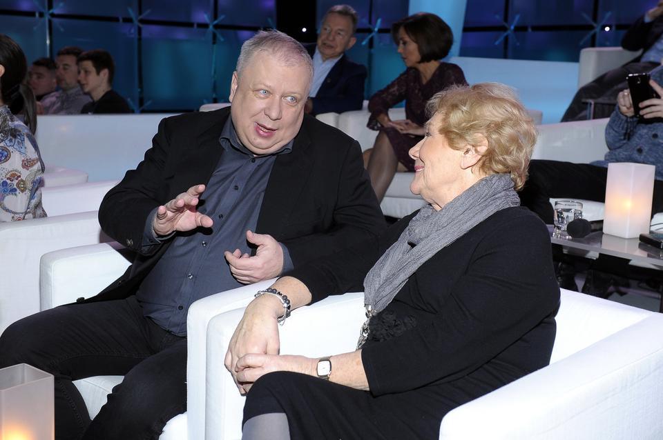 Marek Sierocki i Teresa Lipowska