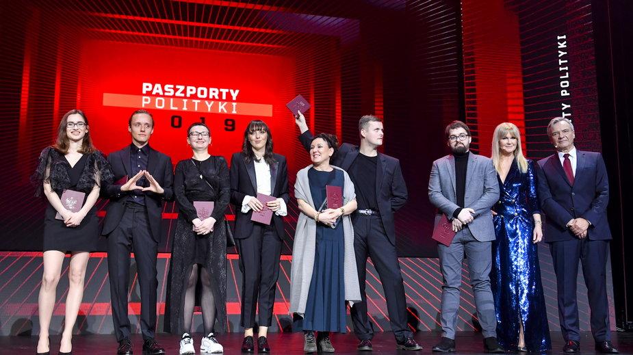 """Laureaci Paszportów """"Polityki"""" 2019"""