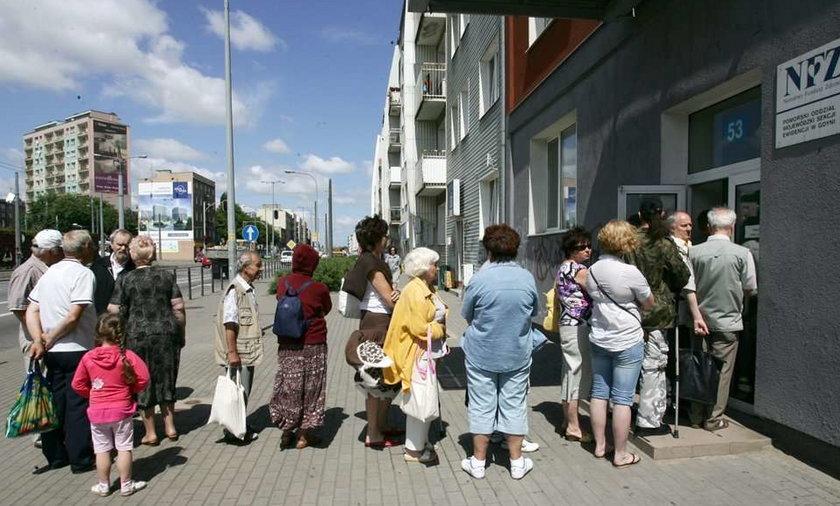 Gdynia: Tak upadla nas NFZ!