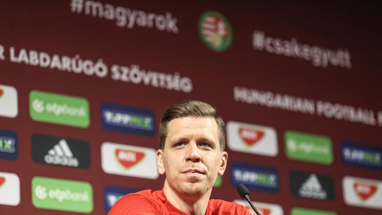 Wojciech Szczęsny na konferencji prasowej