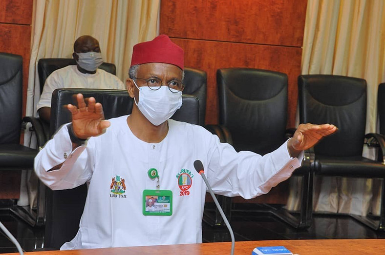 Kaduna State governor, Nasir El-Rufai, has been accused in some quarters of being behind Dadiyata's disappearance [KDSG]