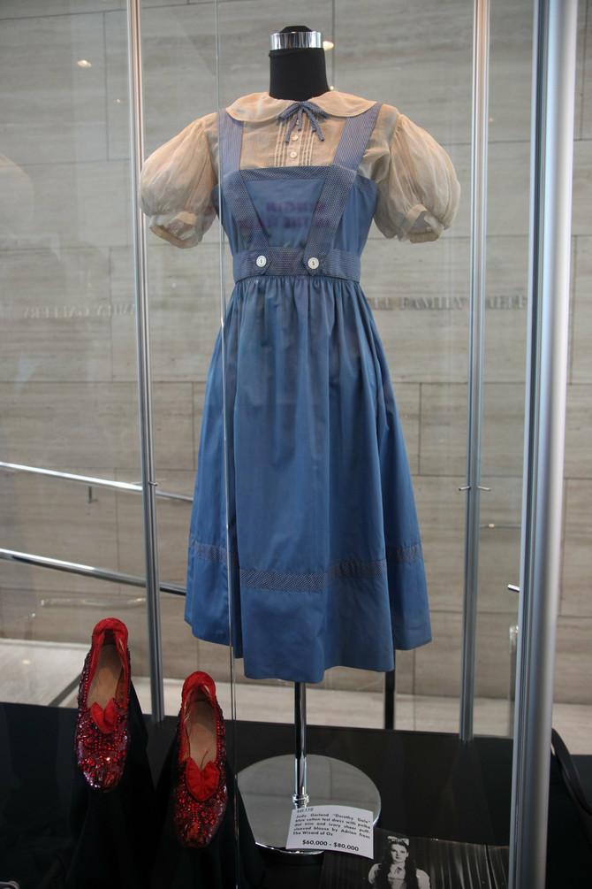 Svi se sećamo crvenih cipelica Doroti u filmu